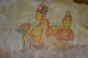 Peintures Sigiriya