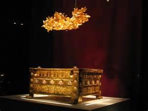coffre ossements phillipe2 macedoine1 A Vergina dans les traces des origines d'Alexandre le Grand